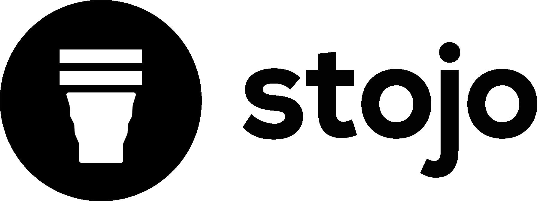 Stojo Logo Horizontal BLACK